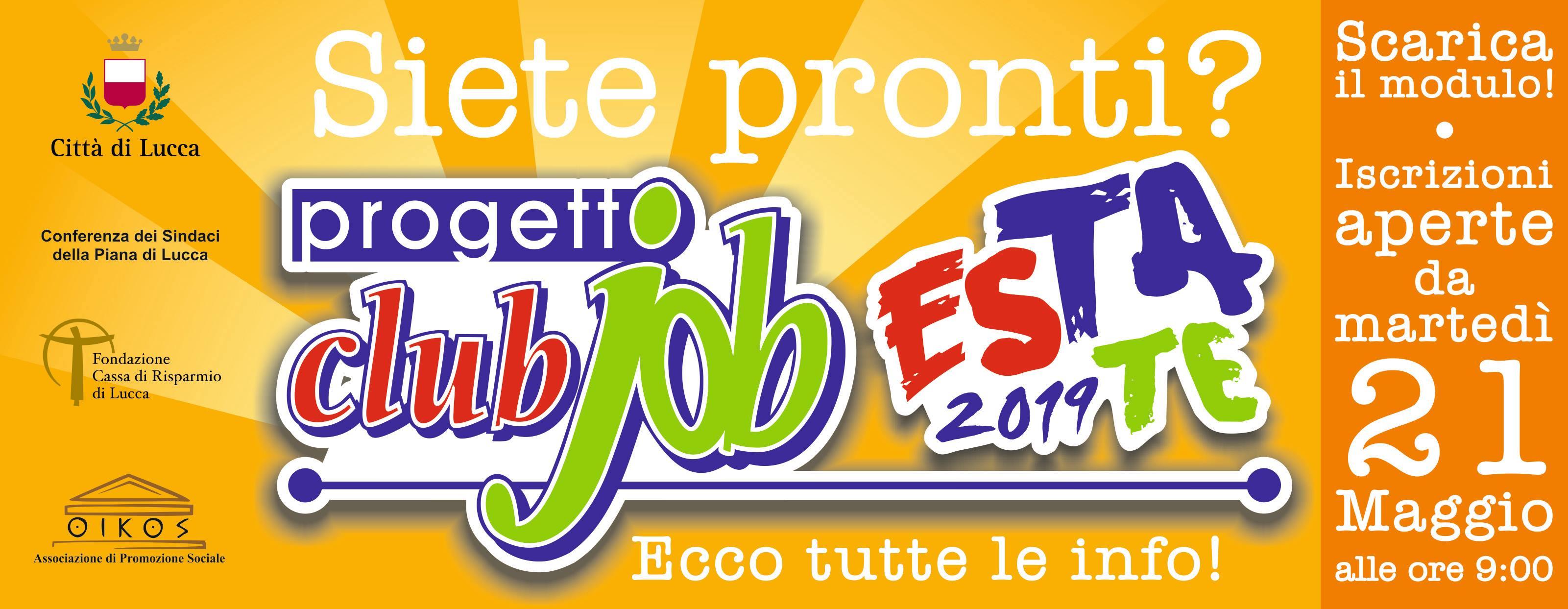 official photos c5b93 f3b78 Aperte le iscrizioni a Club Job Estate! – Oikos